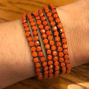 Beaded Stretch Layering Bracelets